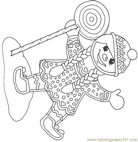free gingerbread girls coloring pages