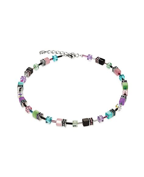 Geo Cube Collier multicolour pastel :: Zinc   Fashion Jewellery Camberwell, Melbourne