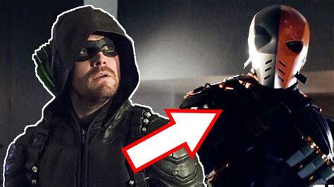 bioskopkeren arrow season 5 deathstroke returns to arrow arrow season 5 youtube