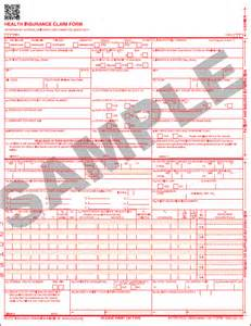 Pictures of What Is Cms 1500 Claim Form