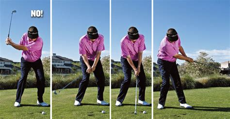 how to swing an iron the truth about ball flight golf tips magazine