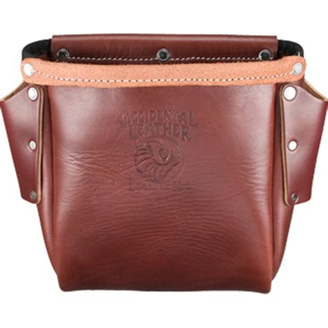 occidental leather 9920 iron worker s leather bolt bag