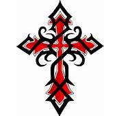Black Red Celtic Cross Tattoos  Tattoo Design And Ideas