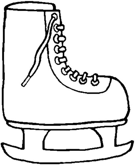 hockey skates coloring pages hockey skate pictures cliparts co