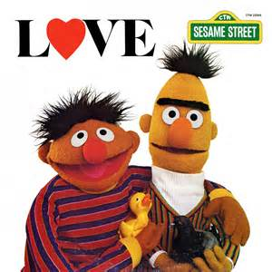 Bert and ernie have long been considered possibly if not probably