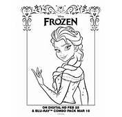 Dibujos Para Colorear De Frozen Im&225genes Elsa
