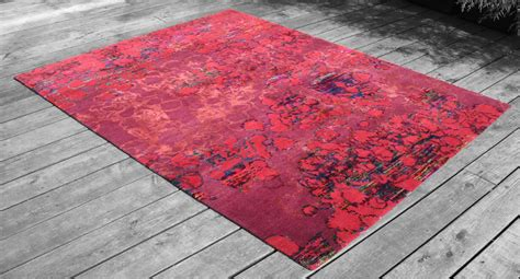 sari silk rugs hand crafted recycled sari silk rug series by bennett bean