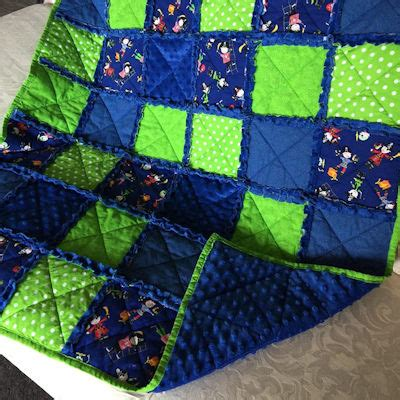How To Make A Raggy Quilt by How To Make A Raggy Quilt