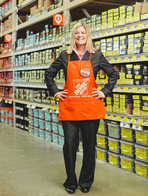 the home depot jeanine huebner senior vice president
