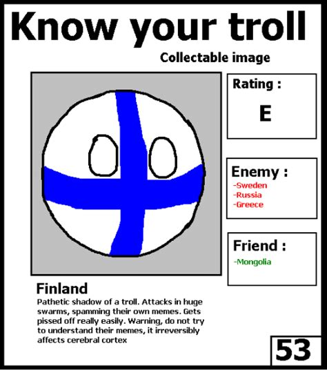 Know Your Meme Troll - know your troll collectable image rating enemy sweden