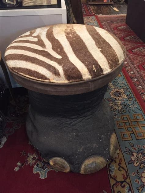 Real Elephant Foot Stool by 32 Best Elephant Hippo Rhino Stools Stands Jars Etc Images