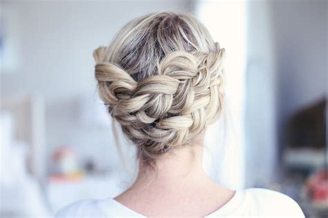 diy hairstyles cgh easy diy crown braid cute girls hairstyles