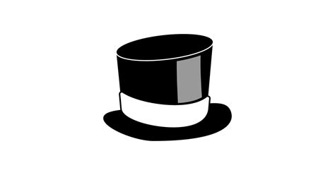 cylinder hat vector  png    graphic cave