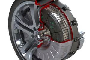 Electric Car Motor For Each Wheel Of Ev1 Automotive World At Critical Juncture
