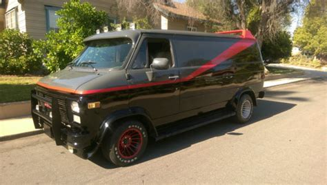 a team replica chevy g20 for sale photos technical