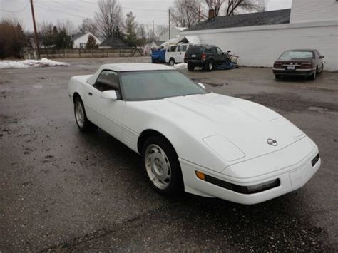 auto air conditioning service 1993 chevrolet corvette parking system sell used 1993 chevrolet corvette base convertible 2 door 5 7l in new lothrop michigan united