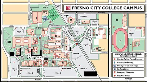 fresno city college map the rage construction continues at fcc despite weather