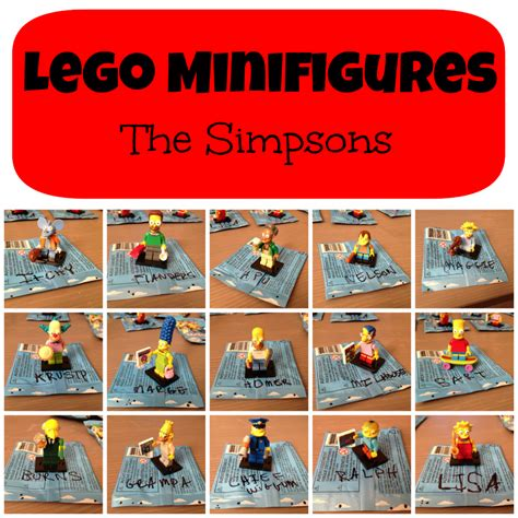 Promo Marge Lego Minifigures The Simpsons No 3 1st001 1st002 code bumpers the simpsons lego minifigures bump codes
