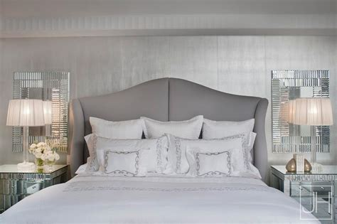 silver mirrors for bedroom silver bedding design ideas