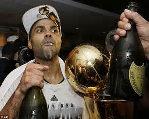 tony s trophy room spurs 104 87 heat san antonio beat miami in five to win the nba chionship daily mail