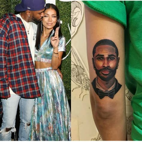 big sean tattoos wow jhene aiko tattoos big s on arm