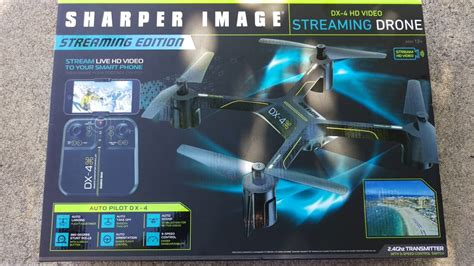 flying  sharper image dx  hd video  drone