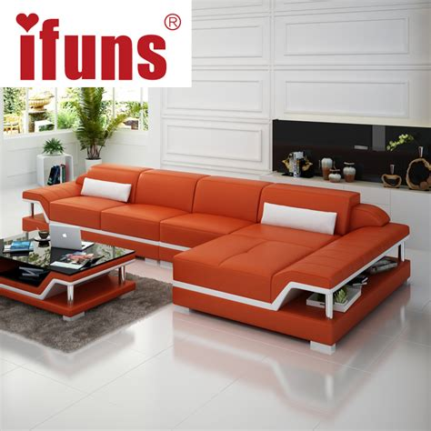 home furniture design with price ifuns chaise sofa set living home furniture modern design genuine leather sectional sofa l shape