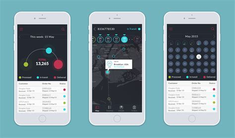 tracker app study tracking application ui design tubik studio