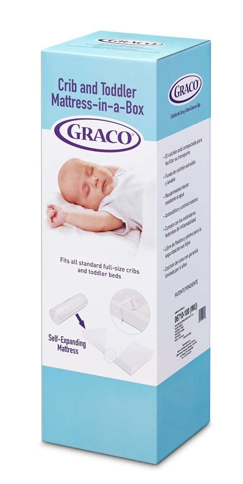 Crib Mattress Box Graco Premium Foam Crib And Toddler Bed Mattress Standard And Sized Baby