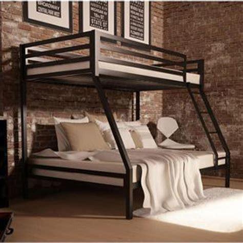 metal bunk beds frame twin  full black ladder kids bedroom furniture bed  ebay