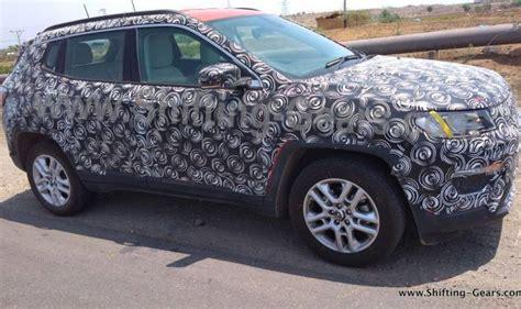 Jeep Compass Premium Suv Interior Spied Again India