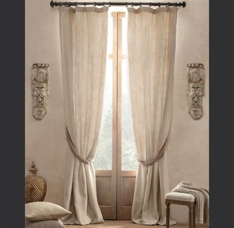 textured linen drapes textured belgian linen drapery traditional curtains