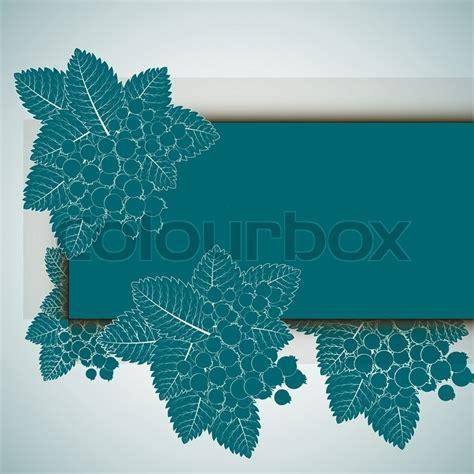 design invitationskort beautiful floral invitation cards stock vector colourbox