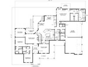 12 Bedroom House Plans Luxury Style House Plans 5724 Square Foot Home 1 Story