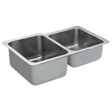 moen stainless steel bowl kitchen sink g18231