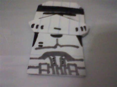 Origami Clone Trooper - origami clone trooper origami
