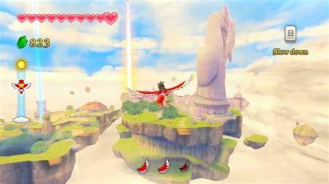 legend of zelda skyloft map hd gameplay the legend of zelda skyward sword above
