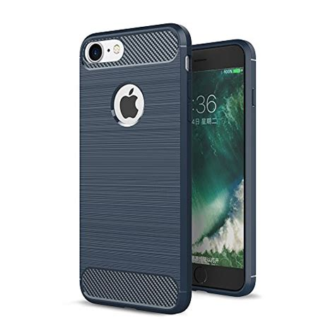 Bumper Armor Rubber Matte Fit Doff Cover Casing Iphone 6 6s most popular iphone 7 navy on to buy review