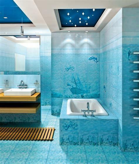 Salle De Bain Deco Mer by 1001 Designs Uniques Pour Une Salle De Bain Turquoise