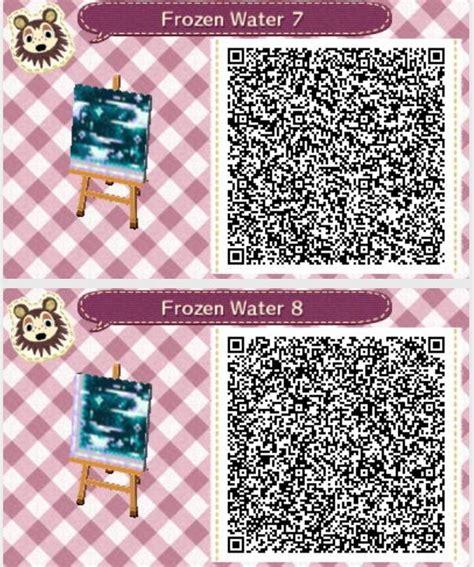 acnl headband qr frozen water animal crossing new leaf qr codes