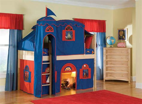 Boys Castle Bunk Bed Baby Bed Tents Feel The Home