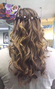 graduation hairstyles for middle school 8th grade graduation hair so cute half up updo by