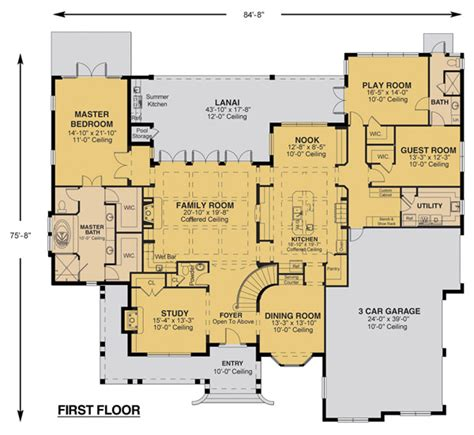 Savannah Floor Plan | savannah floor plan custom home design