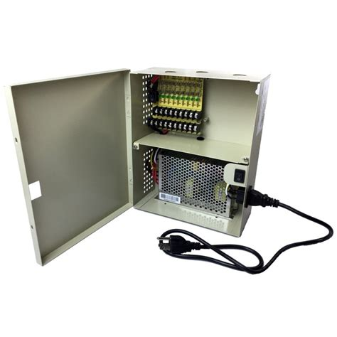 Power Supply Cctv 4 Channel Sentral Box 8 channel power supply box