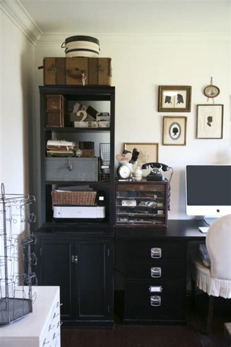 Vintage Office by 43 Retro Vintage And Charming Home Offices