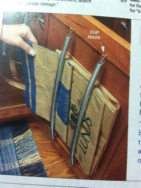 Paper Bag Ideas - 25 best ideas about grocery bag storage on