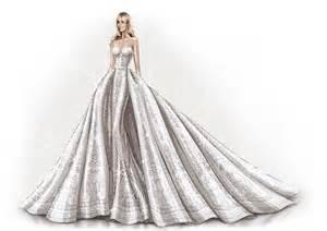Sofia vergara s wedding dress as told by zuhair murad vogue