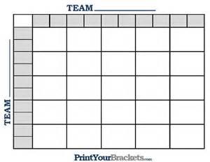 Ncaa football bcs squares 25 grid office pool printable nfl football