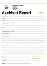 Pictures of Accident Report
