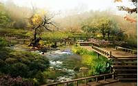 Japan Digital Landscape HD Wide